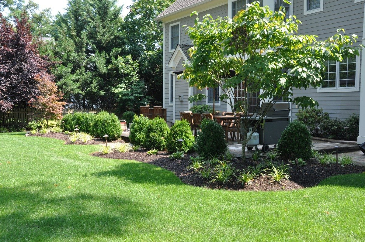 Backyard landscaping landscape solutions for Garden design solutions