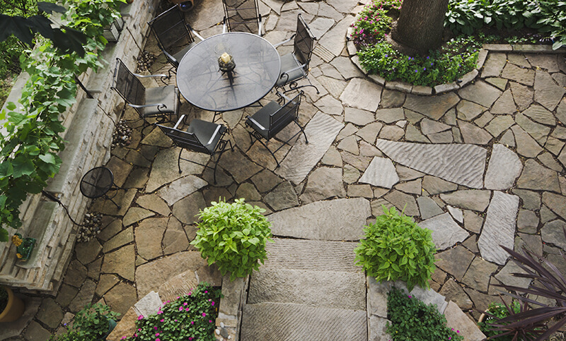 Creative Patio Design