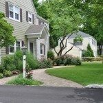 Paver Walkway and Landscaping