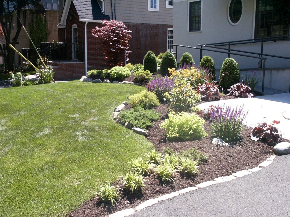Perennial garden landscape solutions for Garden design solutions