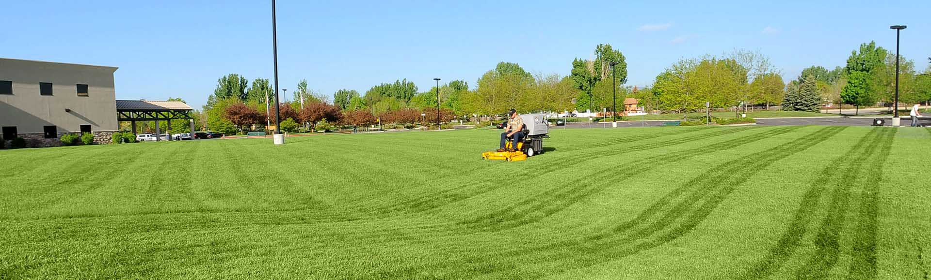 Mowing a Large Property
