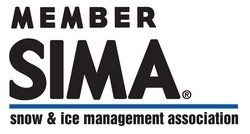 SIM Snow & Ice Management Association Member Badge