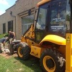 Commerical Landscaping Demolition
