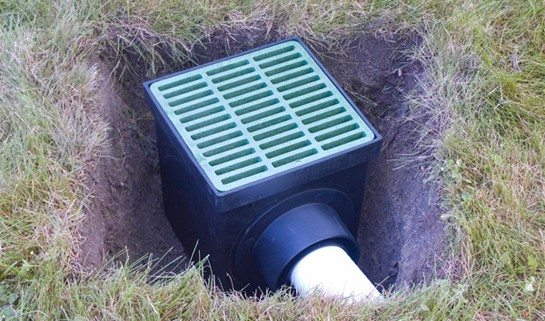 Installing Drainage in a Yard