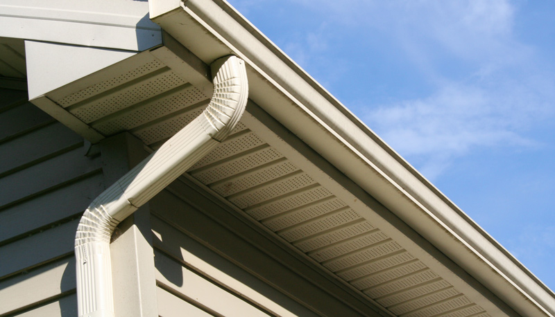 New Gutters on Home
