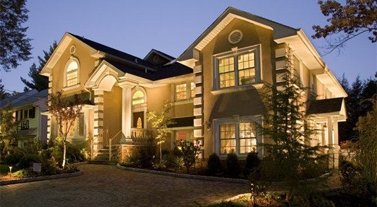 Gorgeous Home with Landscape Lighting