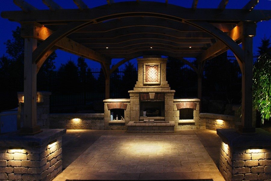 Landscape lighting landscape solutions - How to design outdoor lighting plan ...