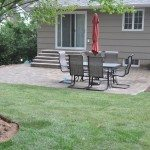 Lawn Renovation and Patio Installation